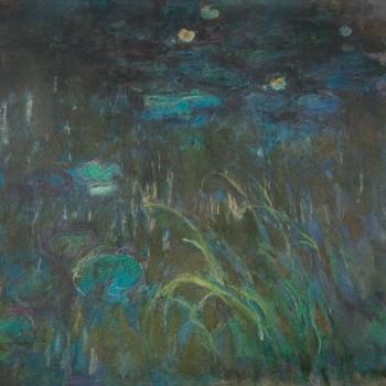 Claude Monet Ninfee, 1914 ~ 1926 - Gravemente compromesso in un incendio al MoMA nel 1958 ©️Oak Taylor Smith | Factum Arte | Sky