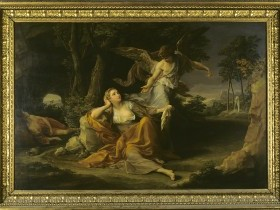 Pompeo Girolamo Batoni, Agar, Ismaele e l' angelo nel deserto