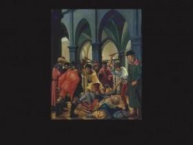 Albrecht Altdorfer, San Floriano bastonato