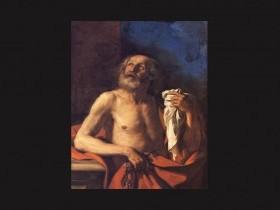 Giovan Francesco Barbieri, detto il Guercino , Le lacrime di Pietro