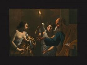 Simon Vouet, San Pietro visita sant'Agata in carcere