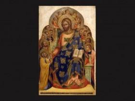 Lorenzo di Nicolò, detto Lorenzo Veneziano , Cristo consegna le chiavi a san Pietro