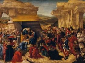 Sandro Filipepi detto Botticelli, Adorazione dei Magi