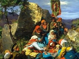 FERDINAND GEORG WALDMÜLLER, Il malore del pellegrino